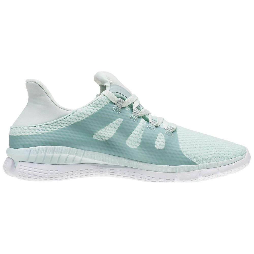 REEBOK Women's ZPrint Her Running Shoes, Mist/Seaside Grey/White - MIST