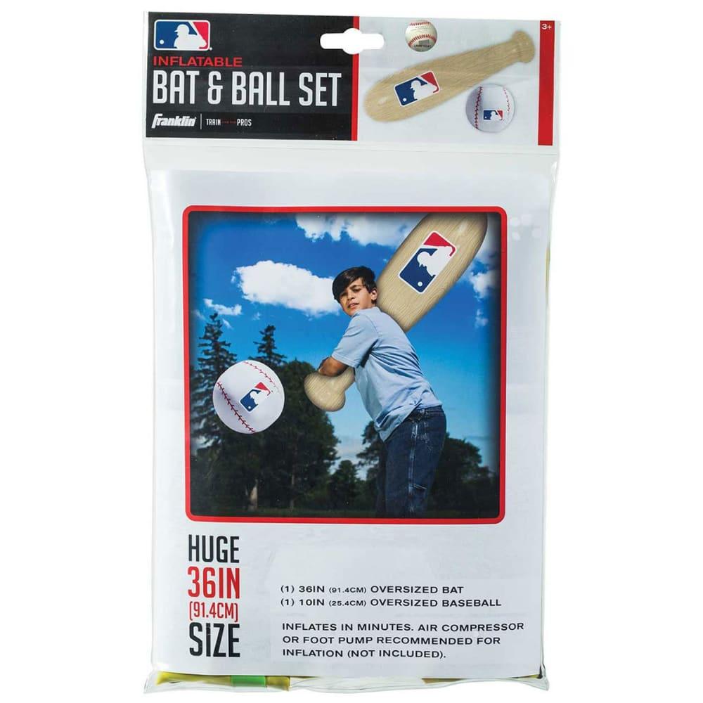 FRANKLIN Oversize Inflatable Baseball Bat N Ball Set - NO COLOR