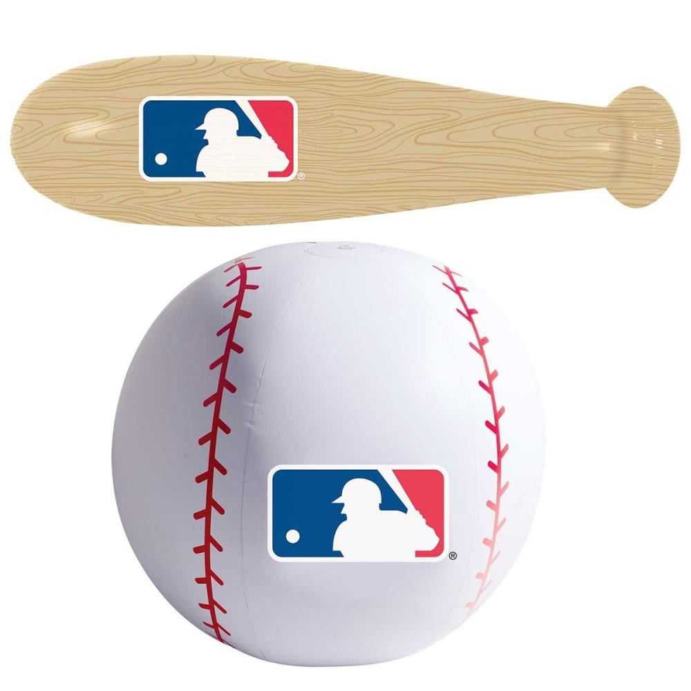 FRANKLIN Oversize Inflatable Baseball Bat N Ball Set - NO COLOR