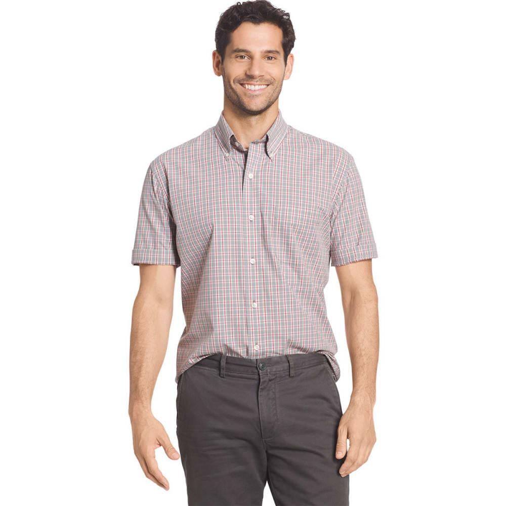 ARROW Men's Hamilton Plaid Short Sleeve Woven Shirt - GRIFFIN-030