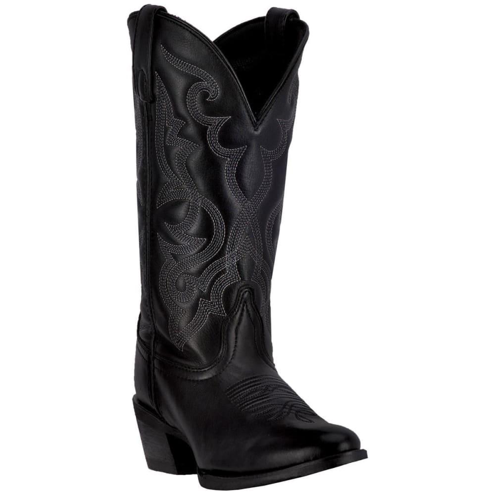 LAREDO Women's Maddie Cowboy Boots, Black - BLACK