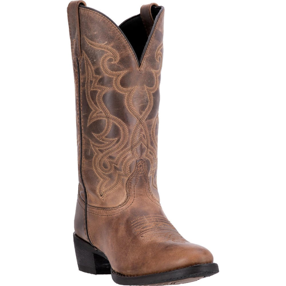 LAREDO Women's Maddie Cowboy Boots, Tan 6.5
