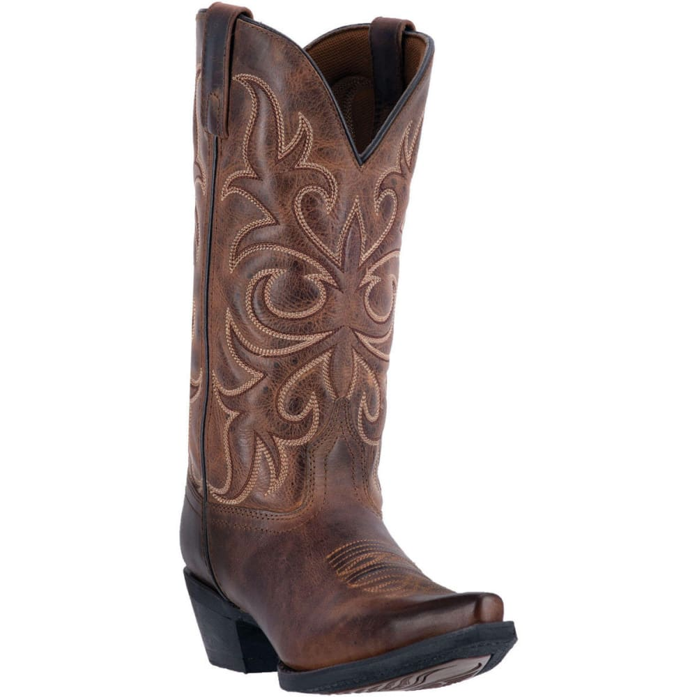 LAREDO Women's Dianna Cowboy Boots, Rust - RUST