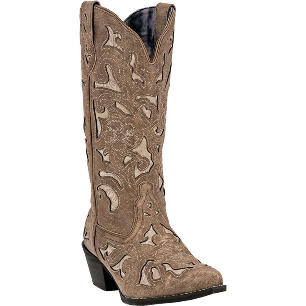 LAREDO Women's Sharona Cowboy Boots, Tan - TAN