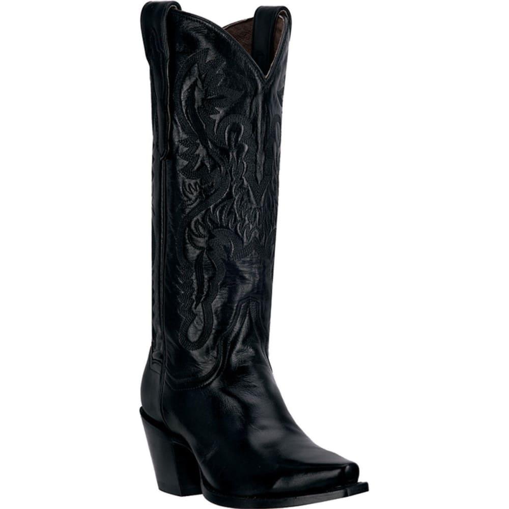 DAN POST Women's Maria Cowboy Boots, Black 9.5