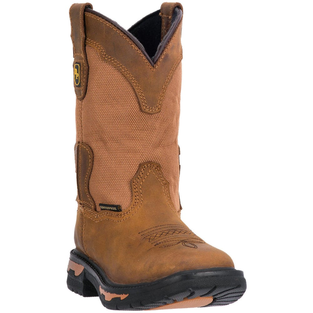 DAN POST Boys' Everest Boots, Size 3.5-6, Brown - BROWN