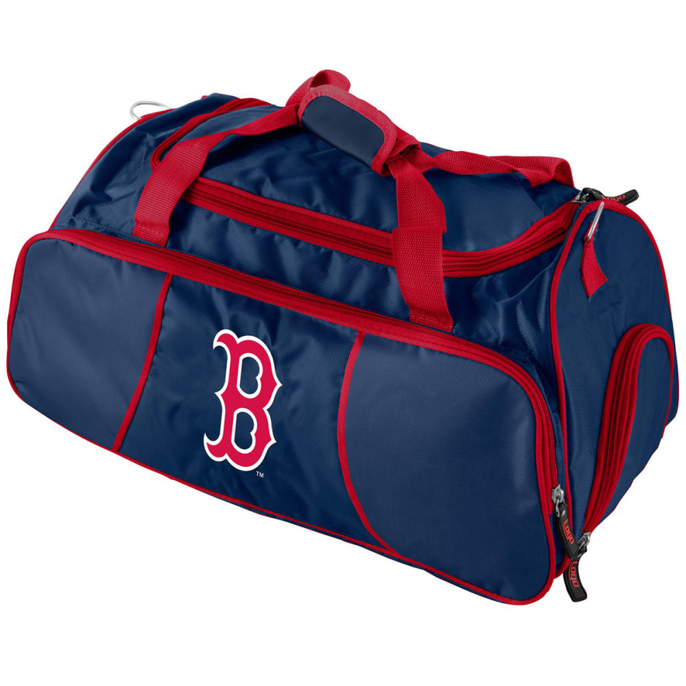 BOSTON RED SOX Athletic Duffel Bag - NAVY/RED