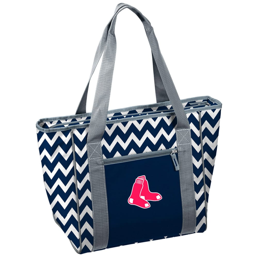 BOSTON RED SOX Chevron 30-Can Cooler Tote - NAVY