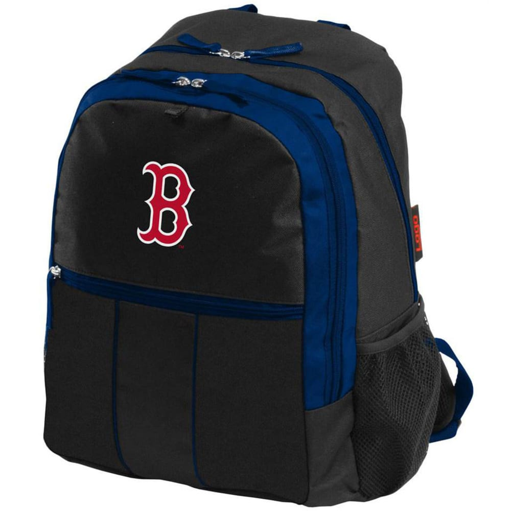 BOSTON RED SOX Victory Backpack - BLACK/BLUE ZIPPER