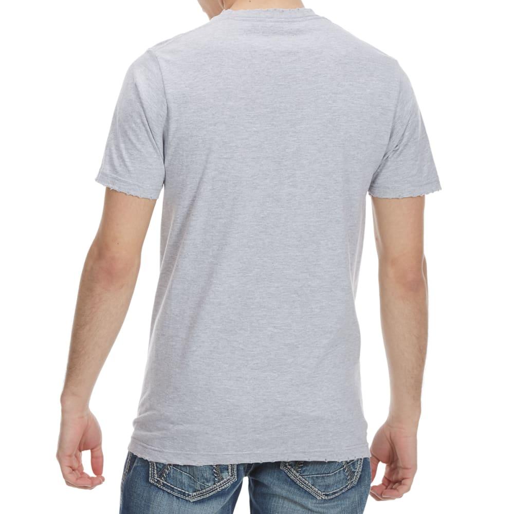 HYBRID Guys' Def Leppard Rock Distressed Short-Sleeve Tee - HEATHER GREY