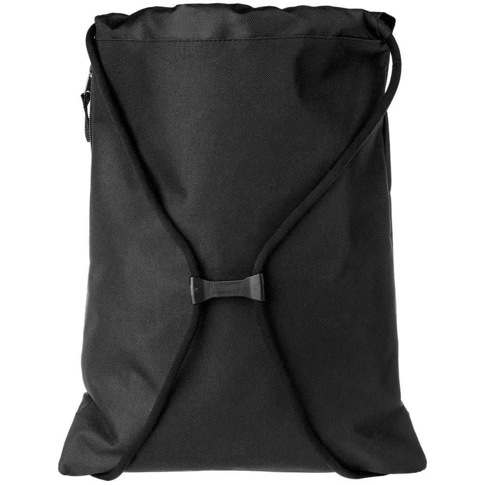 NEW YORK YANKEES Stripe Zipper Drawstring Backpack - BLUE