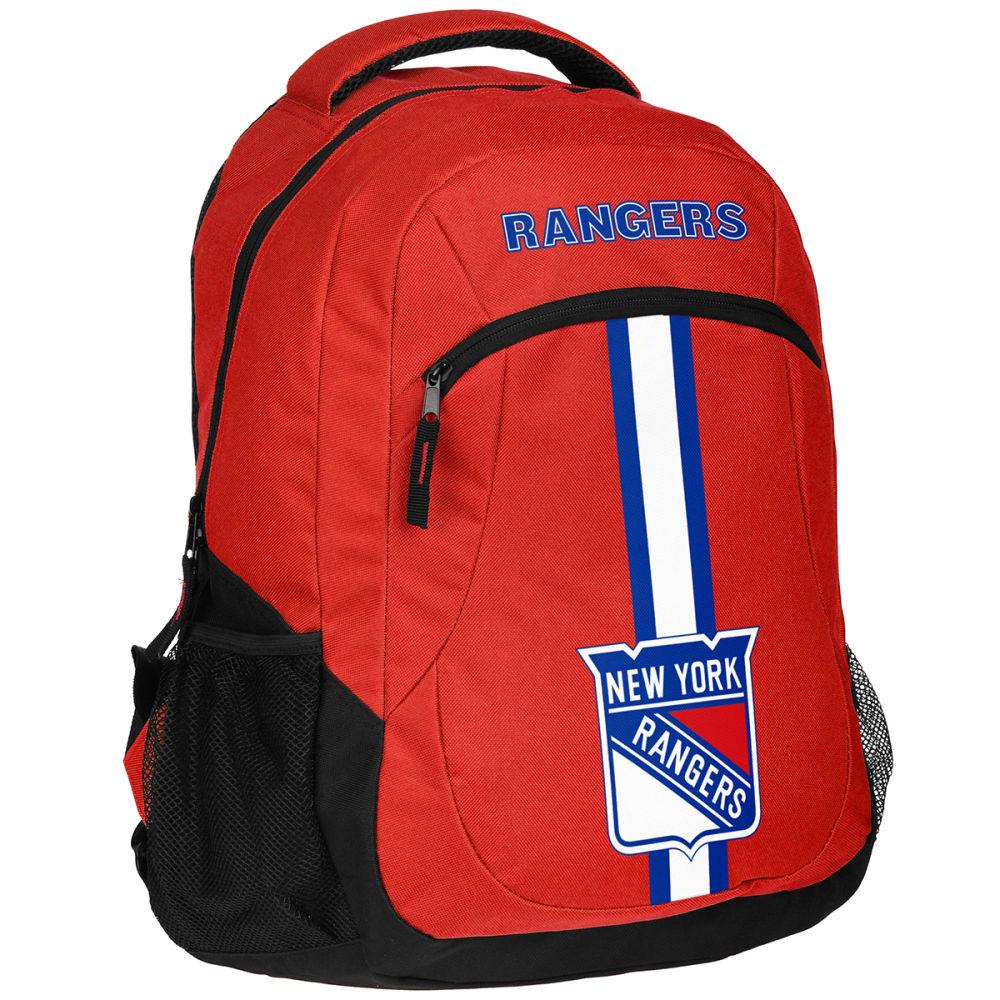 NEW YORK RANGERS Action Backpack - ROYAL BLUE