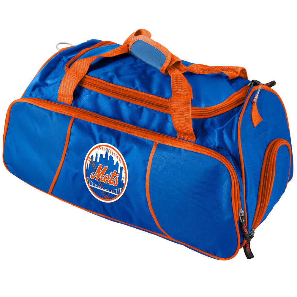 NEW YORK METS Athletic Duffel Bag - BLUE