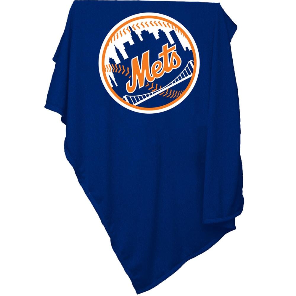 NEW YORK METS Sweatshirt Throw Blanket - BLUE