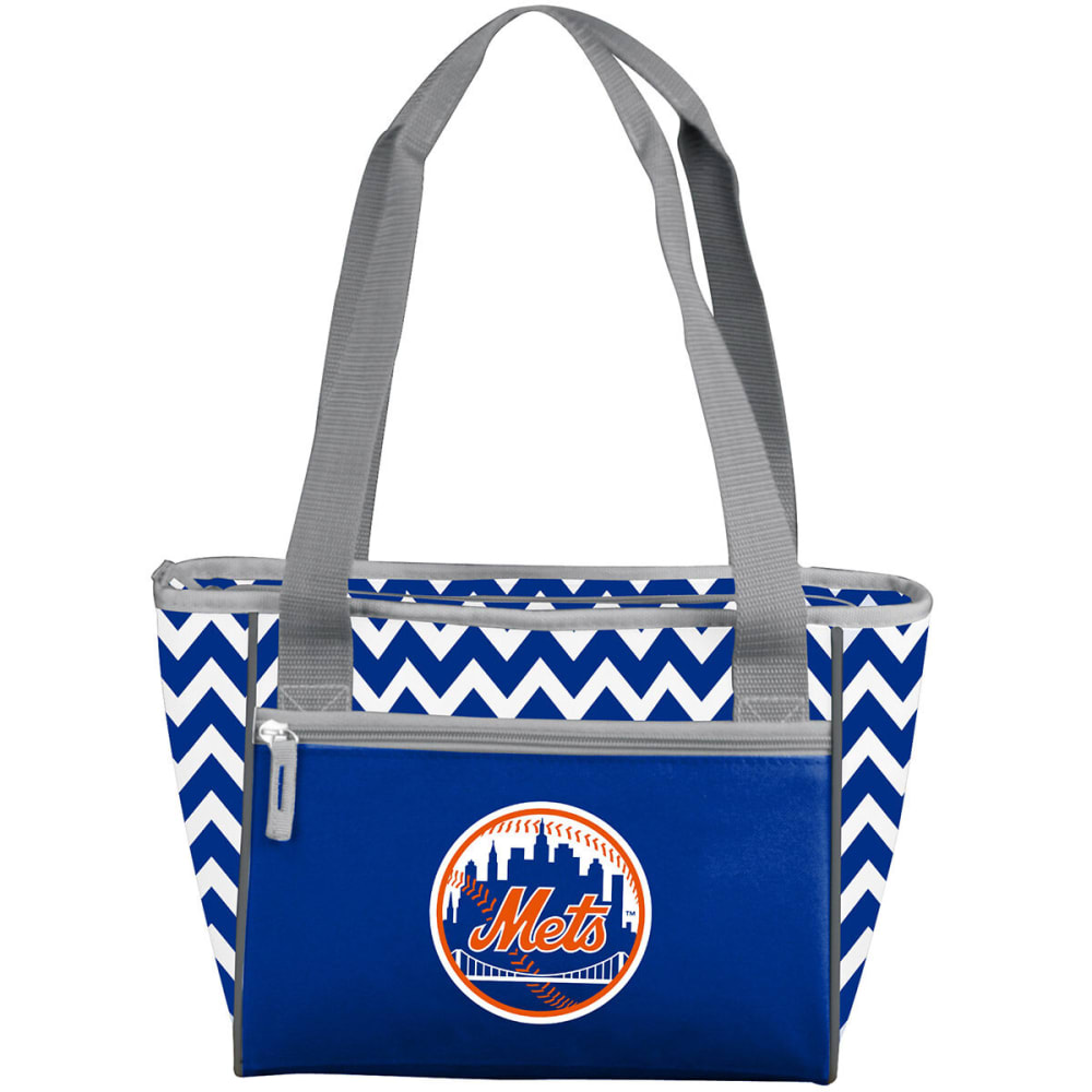 NEW YORK METS Chevron 16-Can Cooler Tote - BLUE
