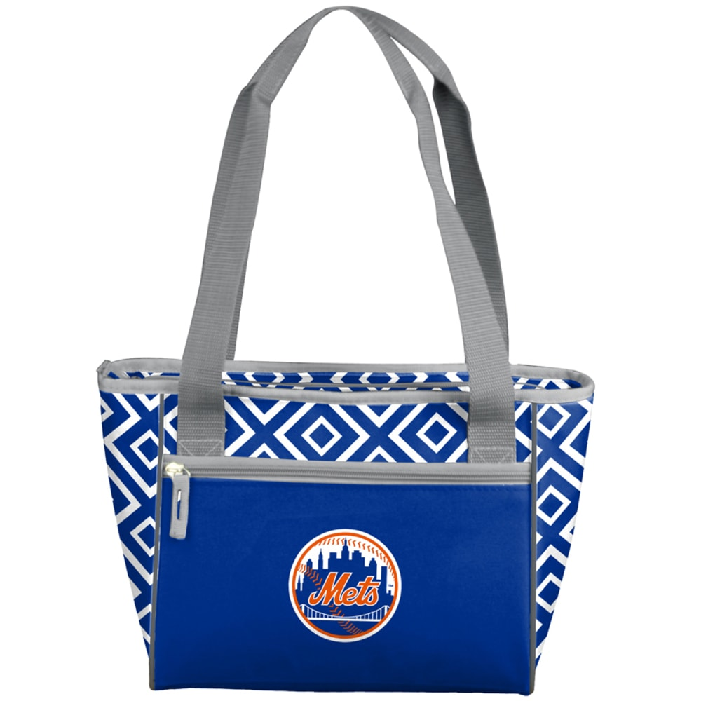 NEW YORK METS 16-Can Diamond Cooler Tote - BLUE