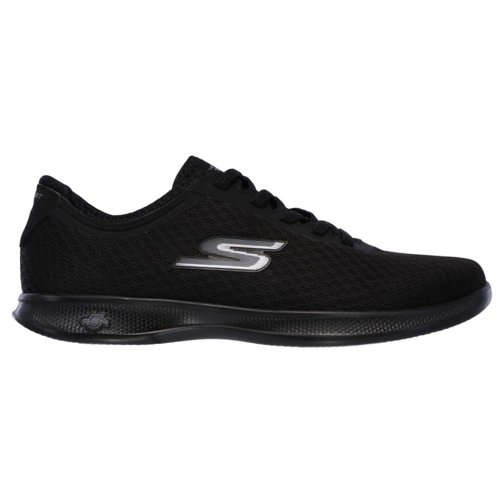 SKECHERS Women's Go-Step Lite-Dashing Sneakers, Black - BLACK