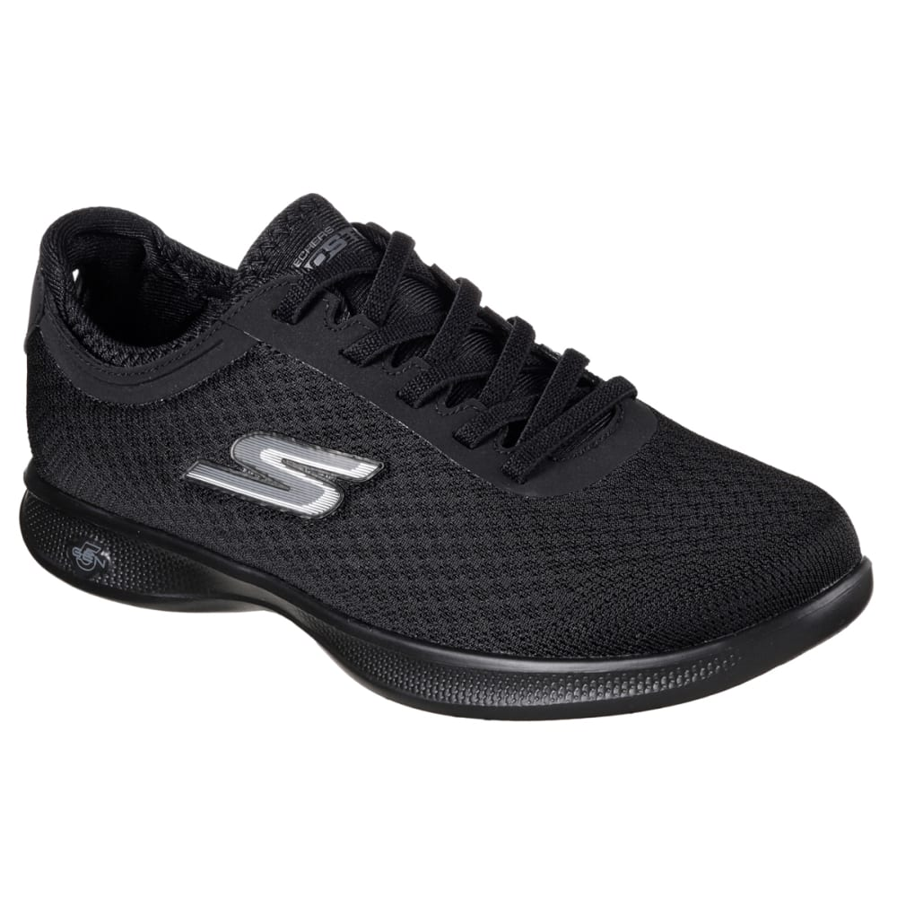 SKECHERS Women's Go-Step Lite-Dashing Sneakers, Black - BLACK