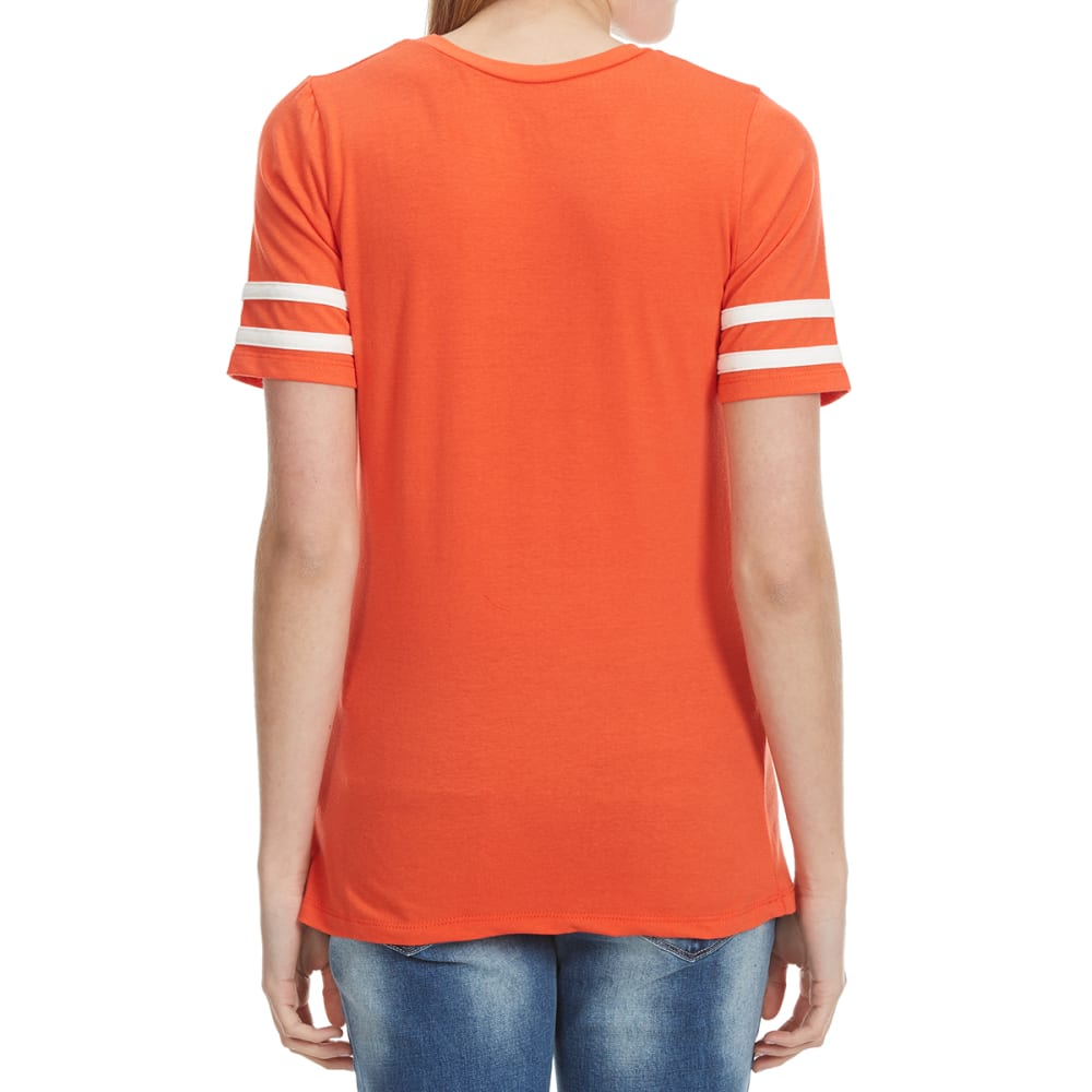 "POOF Juniors' Mini Football Tee - ""FLAWLESS"" FLAME"
