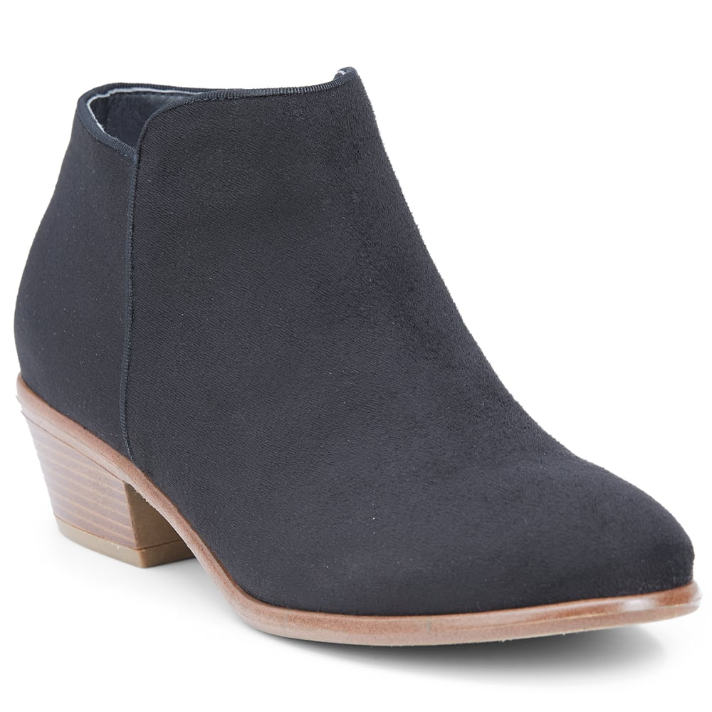 WILD DIVA Women's Manny-01 Ankle Boots - BLACK