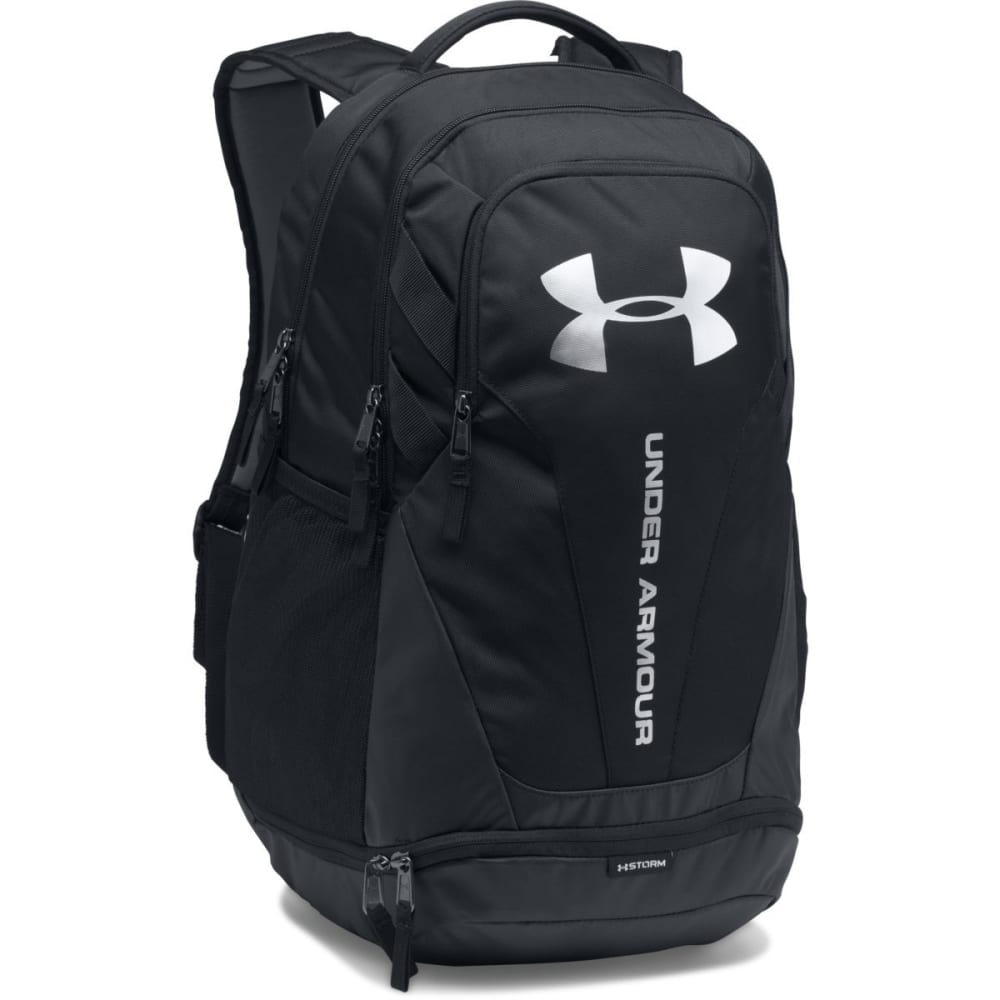 UNDER ARMOUR UA Hustle 3.0 Backpack - BLACK-001