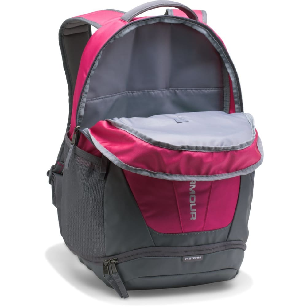 UNDER ARMOUR UA Hustle 3.0 Backpack - TROPIC PINK-654