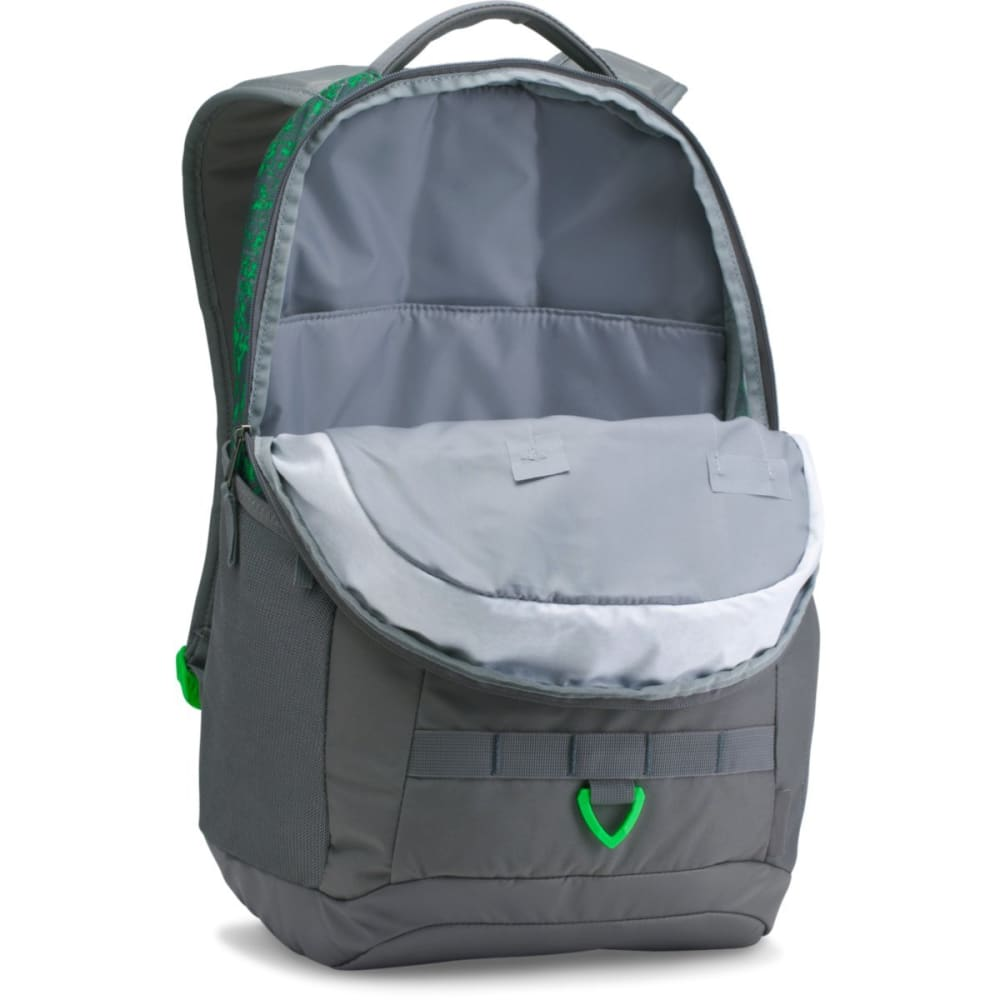 UNDER ARMOUR Big Logo 5.0 Backpack - LIME TWIST-974