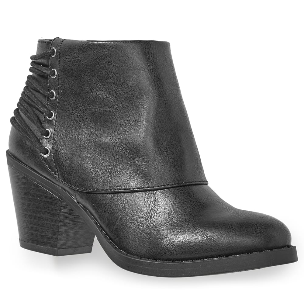 RAMPAGE Women's Tailspin Ankle Boots - BLACK