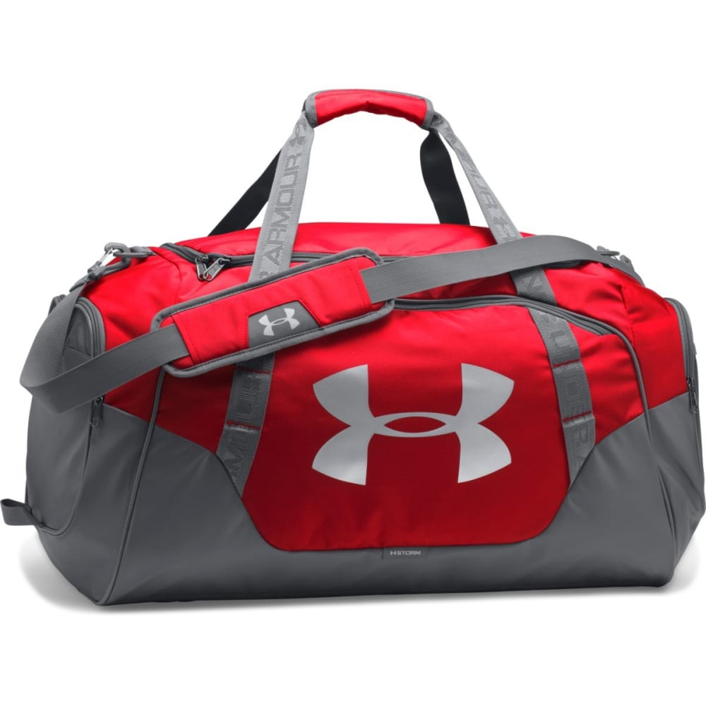 UNDER ARMOUR UA Undeniable 3.0 Duffle Bag, Medium - RED-600