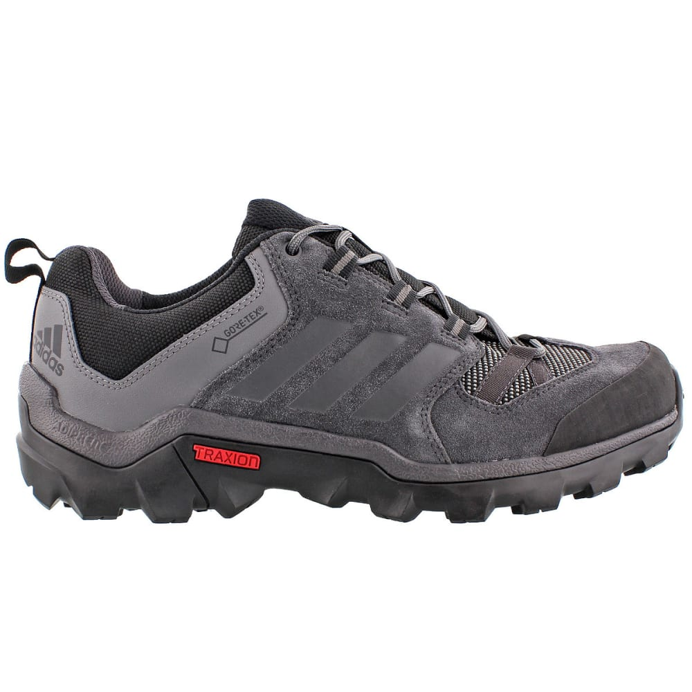 ADIDAS Men's Caprock GTX Hiking Shoes, Black/Grey 6