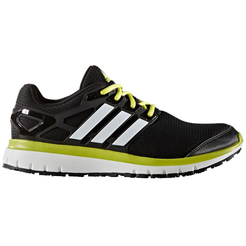 Adidas Men's Energy Cloud Running Shoes - Black, 12