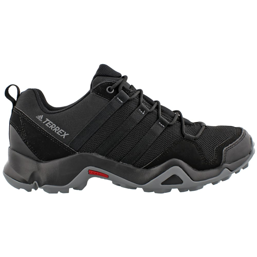 ADIDAS Men's Terrex AX2R Outdoor Shoes, Black - BLACK/BLACK/GREY