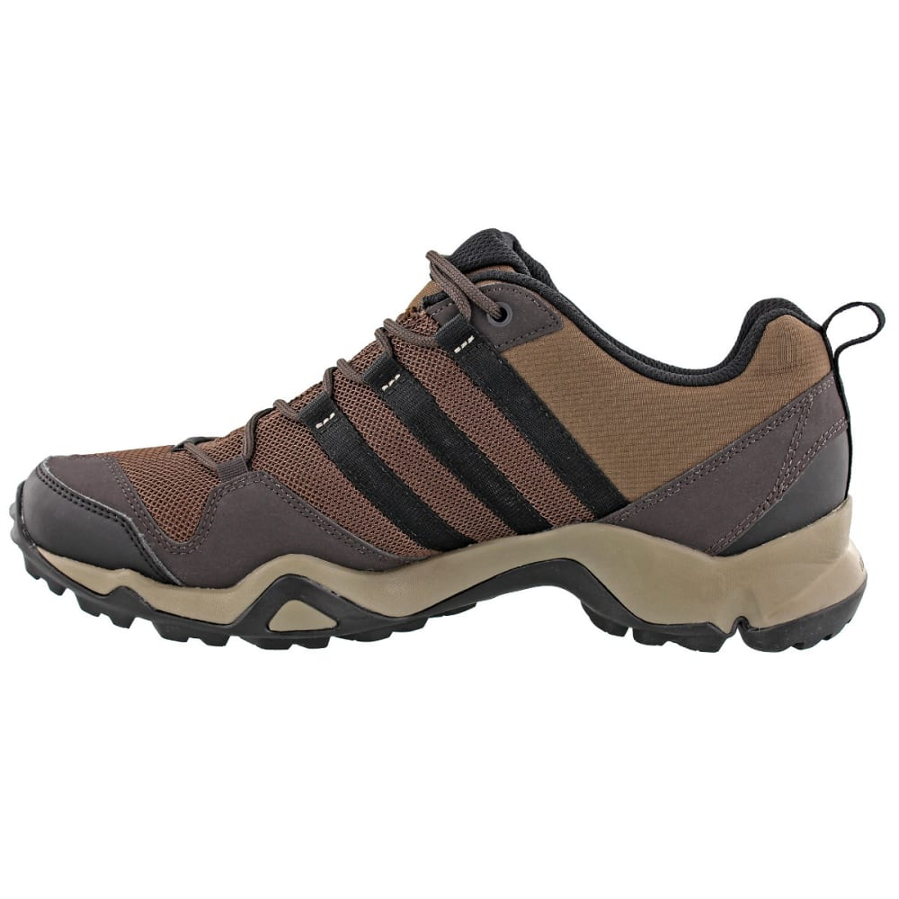 ADIDAS Men's Terrex AX2R Outdoor Shoes, Brown - BROWN/BLACK/BROWN