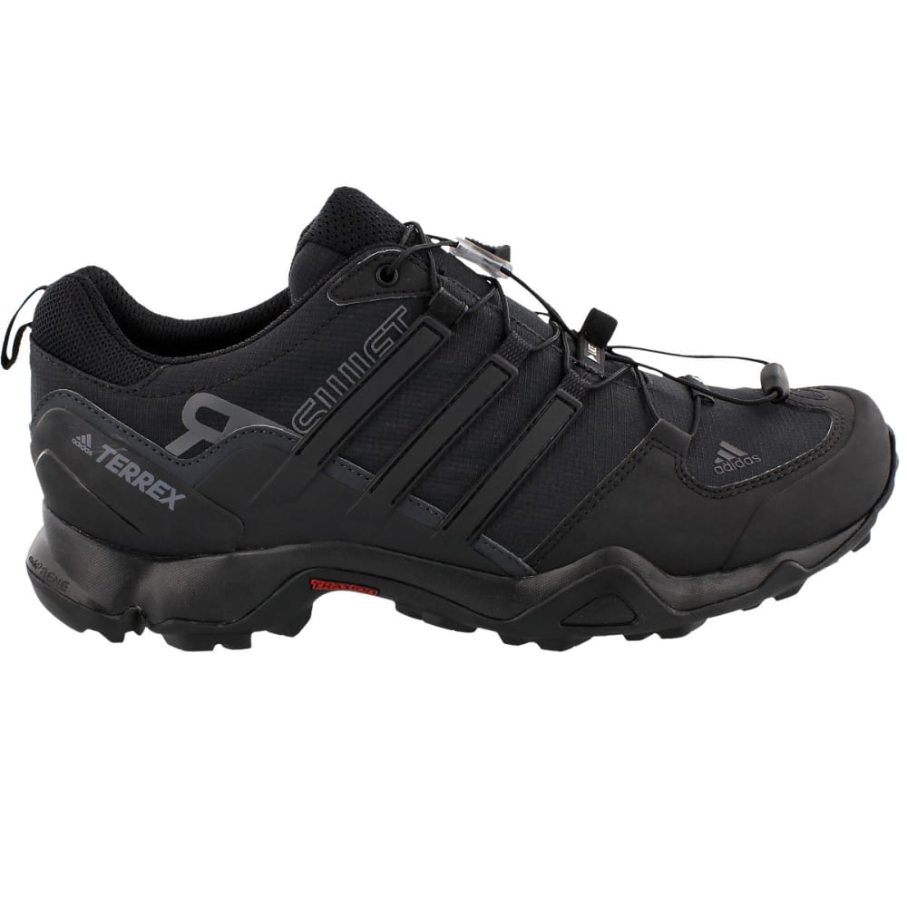 ADIDAS Men's Terrex Swift R Outdoor Shoes - BLACK/BLACK/GREY