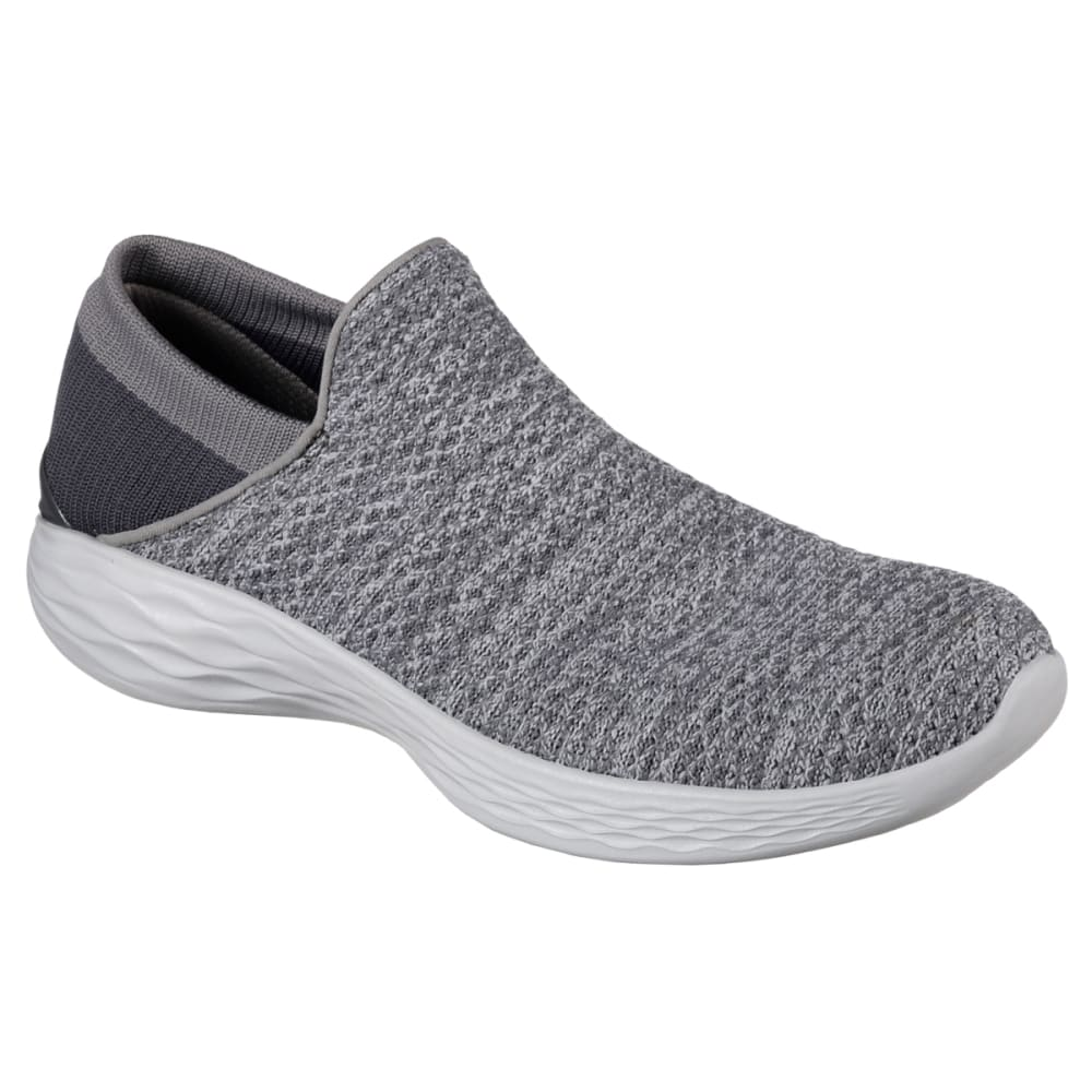 SKECHERS Women's You Sneakers, Charcoal - CHARCOAL