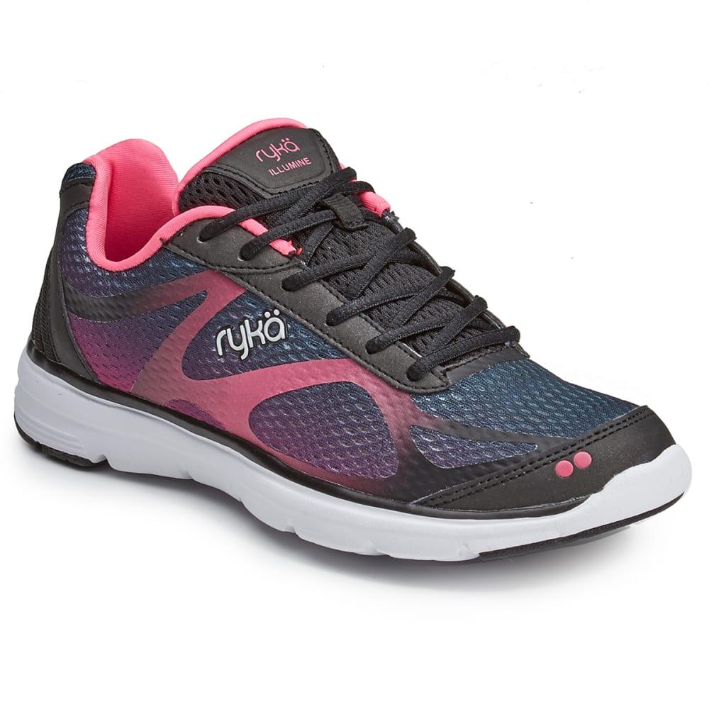 RYKA Women's Illumine Walking Shoes - BLACK