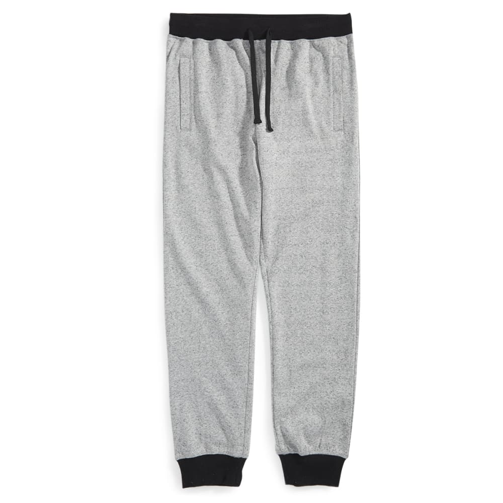 HOLLYWOOD DENIM Guys' Space-Knit Jogger Pants - GREY SPACE