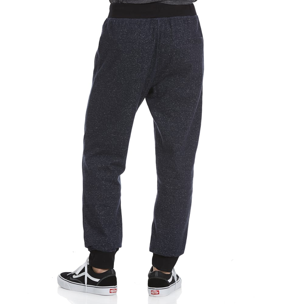 HOLLYWOOD DENIM Guys' Space-Knit Jogger Pants - NAVY SPACE