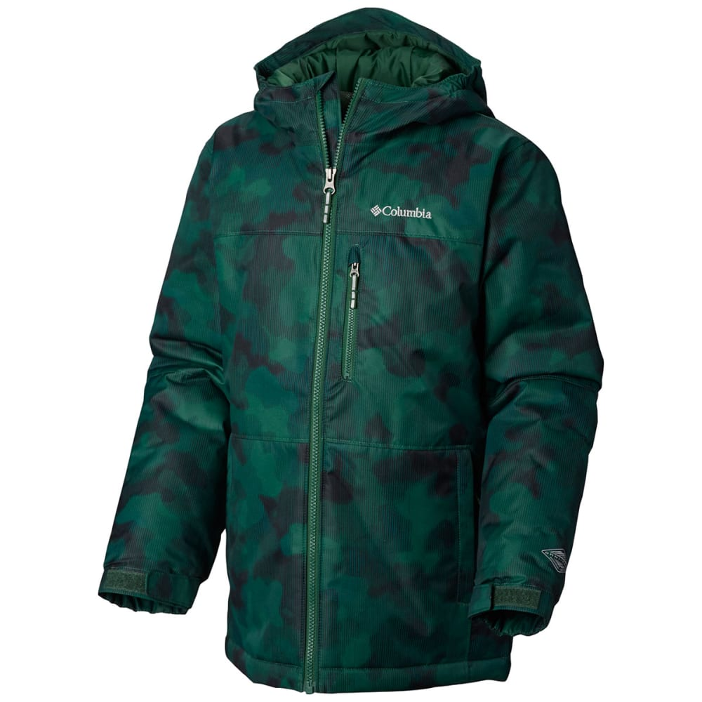 e7fbe64bf COLUMBIA Boys' Magic Mile Jacket - 300-FOREST CAMO