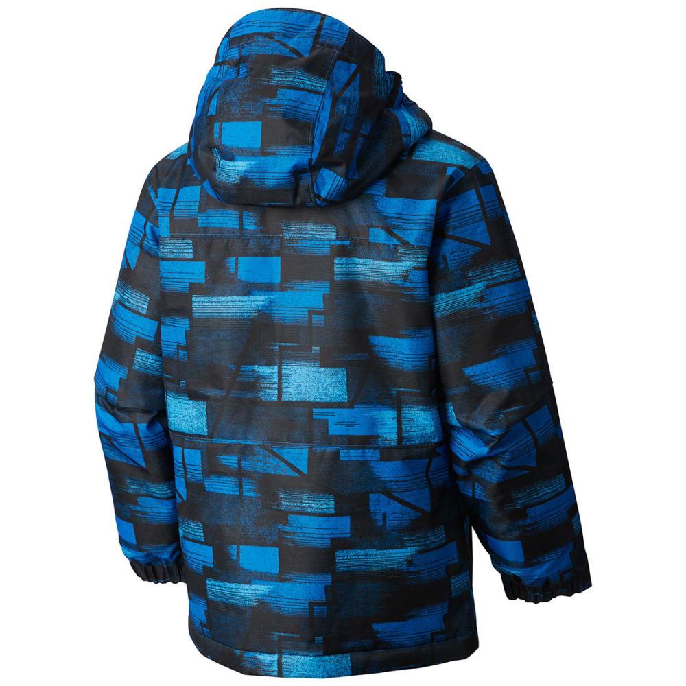 COLUMBIA Boys' Magic Mile™ Jacket - 438-SUPER BLUE GEO P