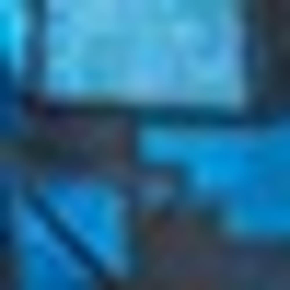 438-SUPER BLUE GEO P