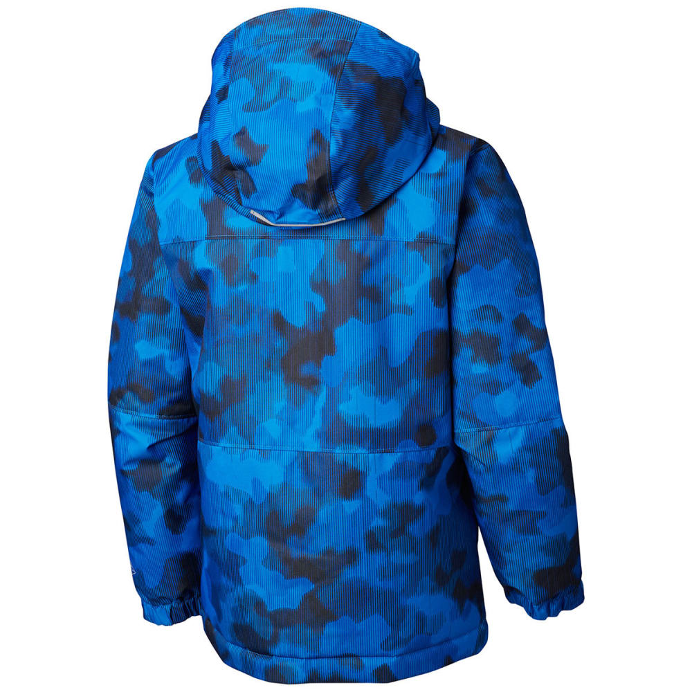 COLUMBIA Boys' Magic Mile Jacket - 440-SUPER BLUE