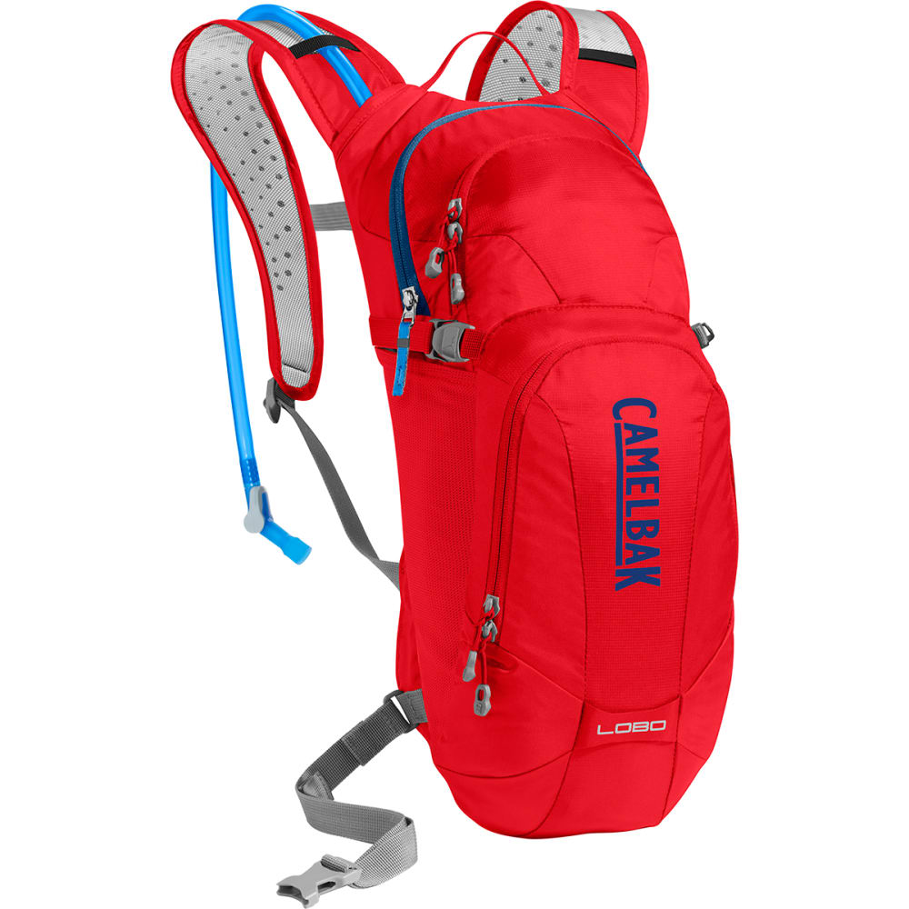 CAMELBAK Lobo Hydration Pack   - RACING RED/BLUE
