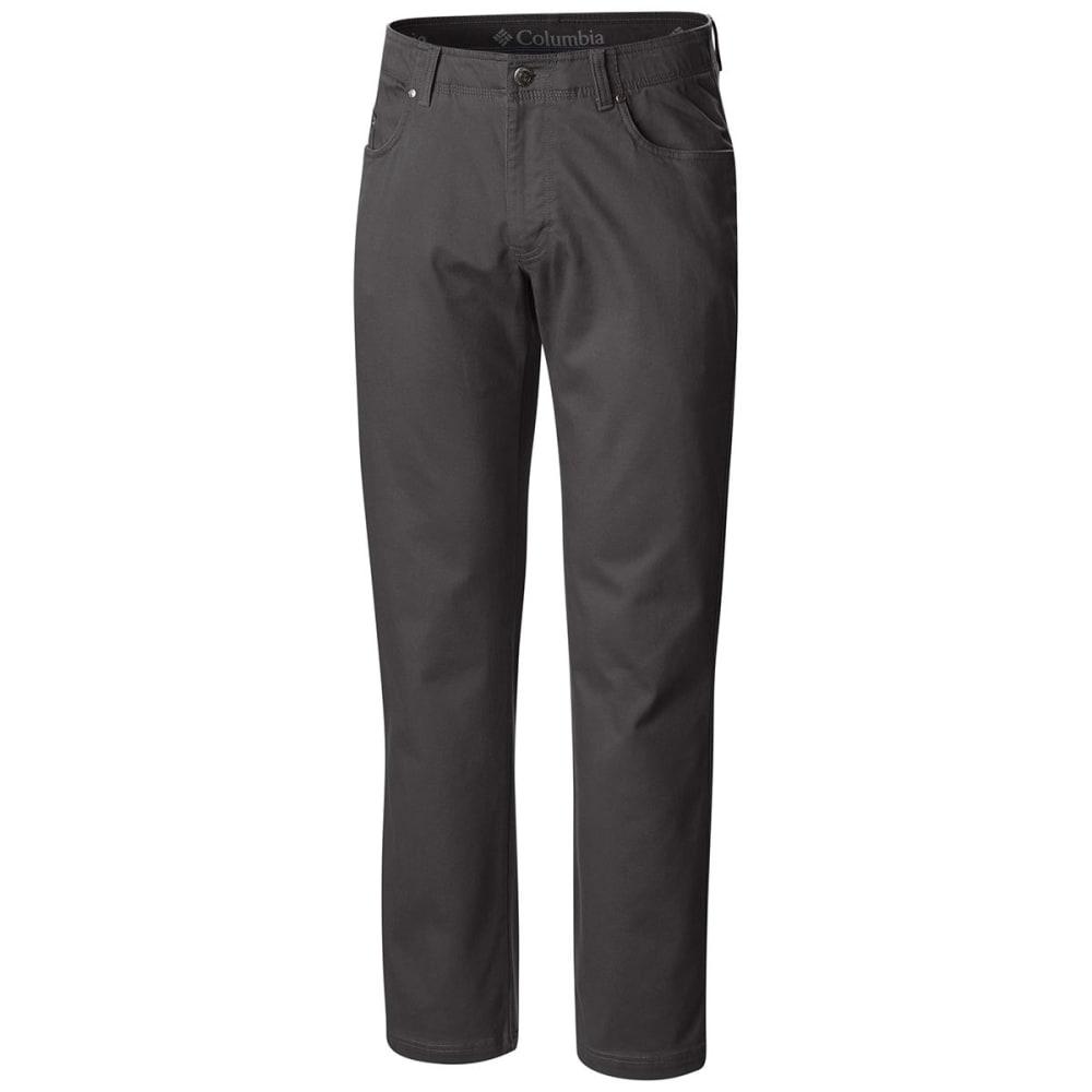 COLUMBIA Men's Pilot Peak Five Pocket Pants - 028-GRILL