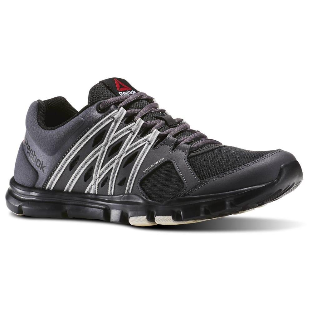 REEBOK Men's Yourflex Train 8.0 LMT Training Sneakers - GREY/BLK