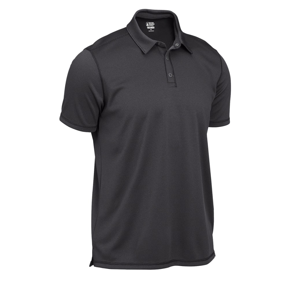 EMS® Men's Techwick® Short-Sleeve Polo - FORGED IRON