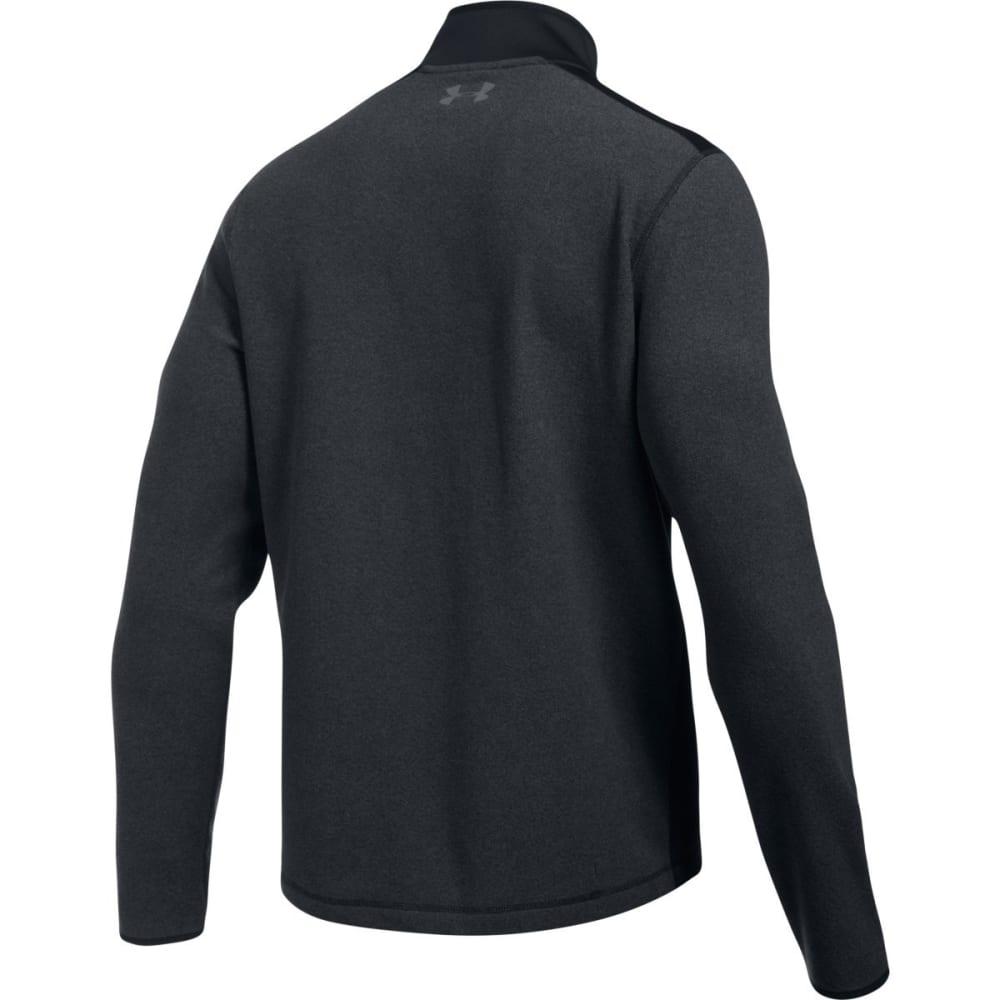 UNDER ARMOUR Men's ColdGear Infrared Fleece ¼-Zip Pullover - BLACK/GRAPHITE-001