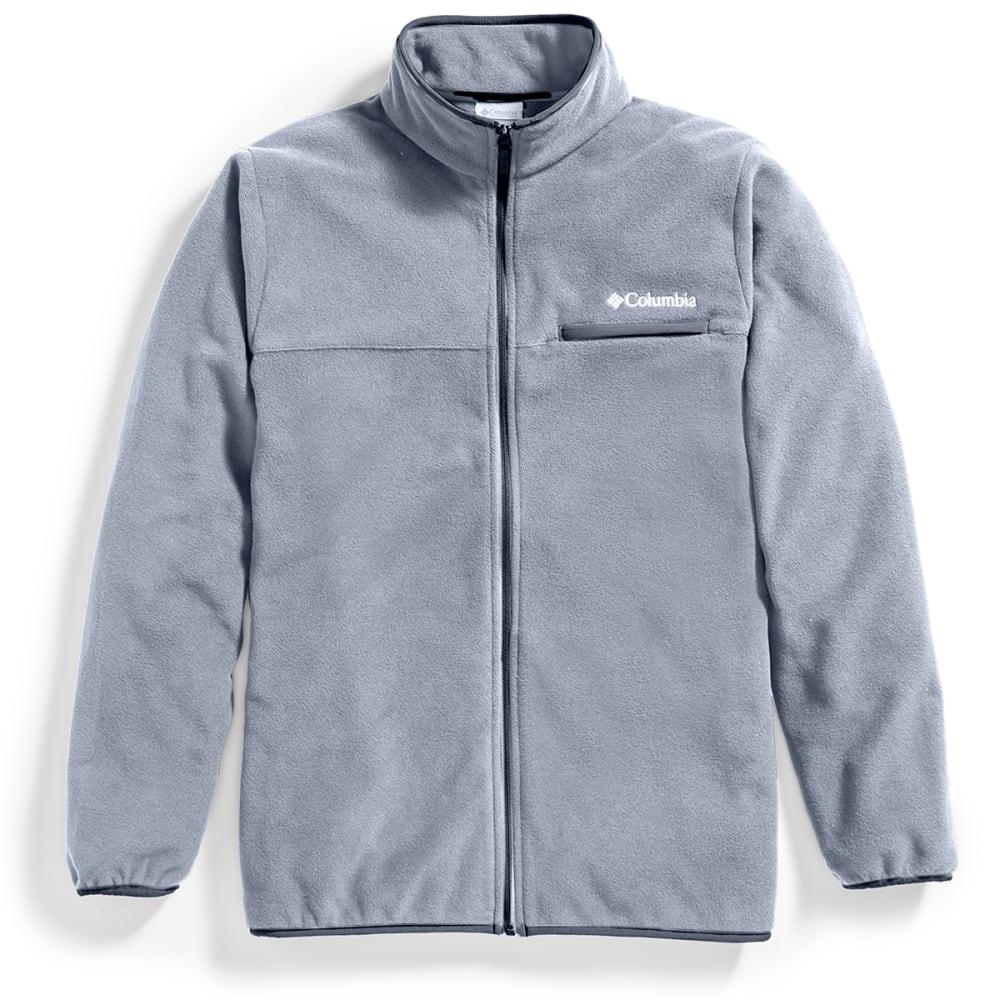 COLUMBIA Men's Mountain Crest Fleece Full-Zip Jacket - 053-GRAPHITE HEATHER
