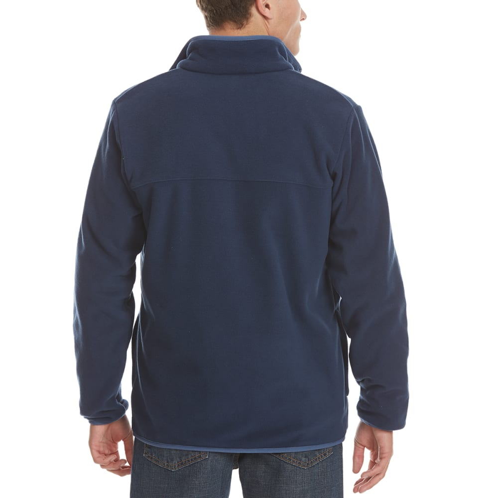 COLUMBIA Men's Mountain Crest Fleece Full-Zip Jacket - 465-COLLEGIATE NAVY
