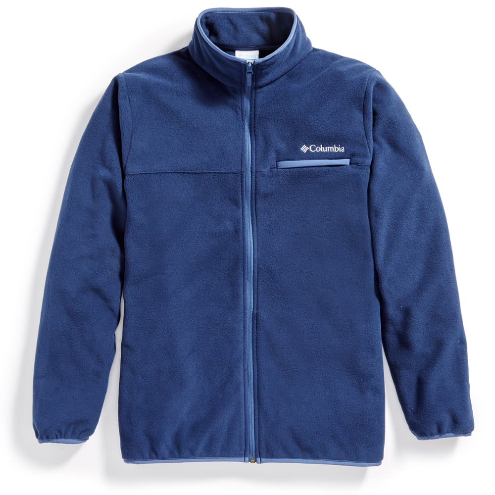 COLUMBIA Men's Mountain Crest™ Fleece Full-Zip Jacket - 465-COLLEGIATE NAVY